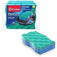 6-Pack O Cedar Multi Use Scrunge Scrub Sponge for Kitchen and Bathroom