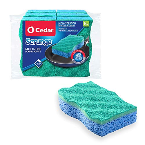 O-Cedar Multi-Use Scrub Sponges - 6 Pack