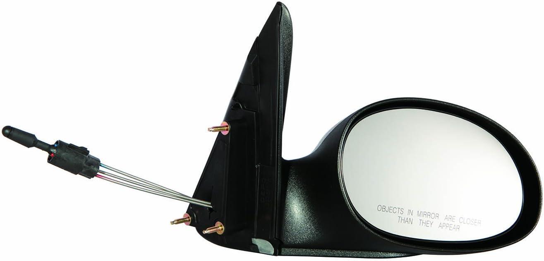 Depo 333-5417R3CF Chrysler PT Cruiser Passenger Side Manual Mirror 04-09 Without Fold-Away Type 1 Textured