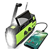 Best Solar Radios - Emergency Flashlight Radio,2021 Upgraded AM/FM/NOAA Weather Solar Crank Review