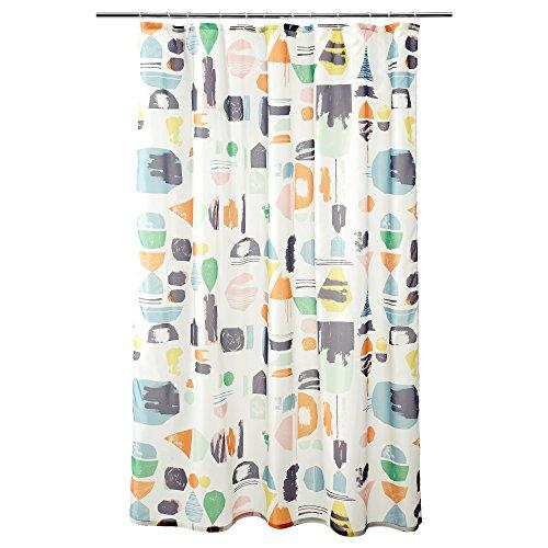 IKEA doftklint-Duschvorhang mehrfarbig