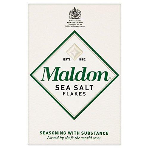 Maldon Escamas De Sal De Mar (125g) (Paquete de 2)