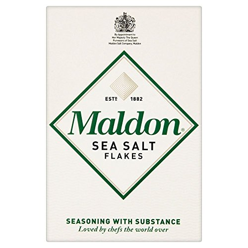 Maldon Sea Salt Flakes (125g) - Packung mit 6