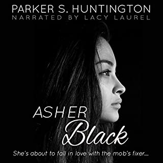 Asher Black audiobook cover art