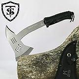 TS Knife Hacha táctica K25 315 | Longitud de la hoja: 18 cm | Hacha táctica de supervivencia para aventuras de supervivencia