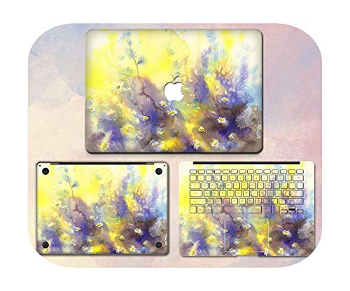 Lovely Cute Laptop Sticker For Macbook Pro Air 11 13 15 Retina Full body Skin Cover Protector Sticker Cute kawaii Protector Skin-4-Air13 A1932 2019