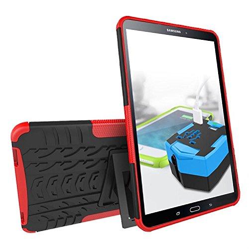 KATUMO Buena Funda Compatible con Samsung Tab A6 10.1', Transparent Gel Carcasa Bumper Compatible conSamsung Galaxy Tab A6 10.1'(SM-T580/580) Funda de Piel Protectora Carcasa Dura Cubierta Caja