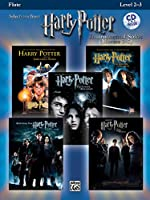 Selections from Harry Potter Instrumental Solos Movies 1-5: Flute, Level 2-3 (Harry Potter Instrumental Solos (Movies 1-5): Level 2-3)