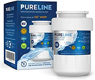 Pureline MWF Water Filter Replacement. Compatible Models for GE MWF, MWFP, MWFINT, GWF, GWFA, HWF, HWFA, HDX FMG-1, Smartwater, WFC1201, GSE25GSHECSS, 197D6321P006