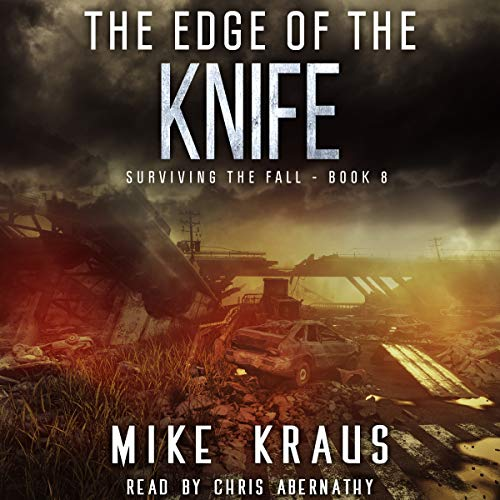 The Edge of the Knife audiobook cover art