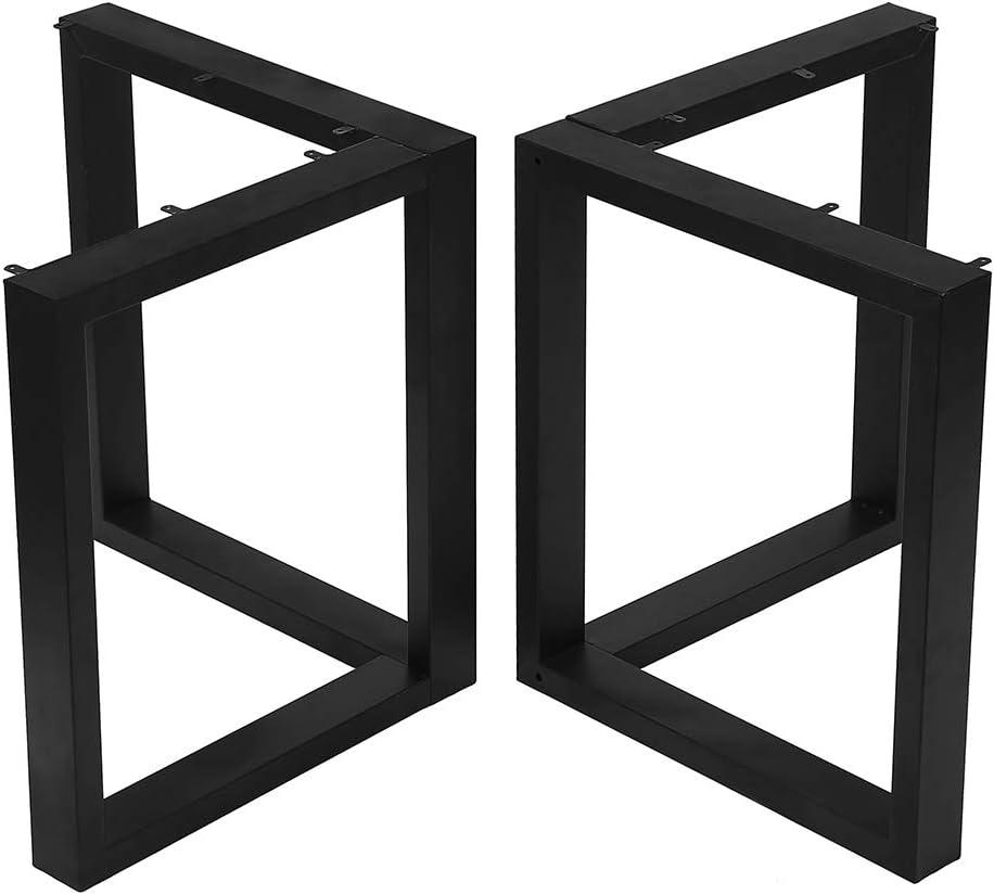 Metal Table Legs Cast Iron Dining Table Legs,Industrial Black De