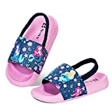 Kyopp Niño Zapatos de Playa Unisex Zapatos de Ducha Niña Antideslizante Zuecos Mulas Ninos
