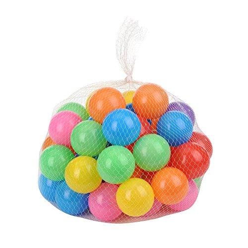 Per Ballon de Piscine à Balles Non Toxiques et Sécurité Balles pour Les Enfants (50pcs)