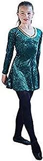 Stage-Celtic-St Patrick's Day-Irish-Lyrical Short Irish Dance Dress Child's Costume - All Ages