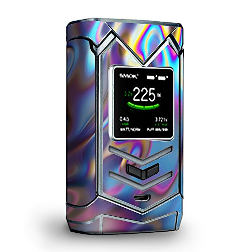 Skin Decal Vinyl Wrap for Smok Veneno 225W TC Vape skins stickers cover/Opalescent Resin marble oil Slick