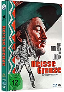 Heiße Grenze - Limited Mediabook-Edition - Uncut (plus Booklet/HD neu abgetastet) (+ DVD) [Blu-ray] [1959]