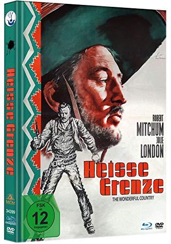 Heiße Grenze - Limited Mediabook-Edition - Uncut (plus Booklet/HD neu abgetastet) (+ DVD) [Blu-ray]