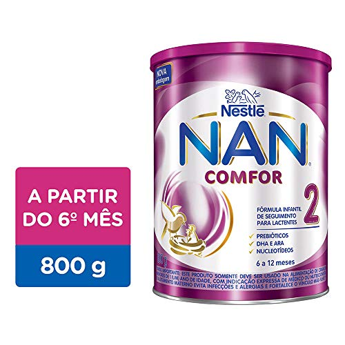 Fórmula Infantil, Nan Comfor 2, 800g