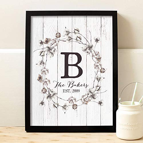 Farmhouse Decor Personalized Picture Frame Rustic Home Decor Custom Photo Gifts Rustic Wall Decor Wood Wall Art Prints Wood Photo Frame Gift