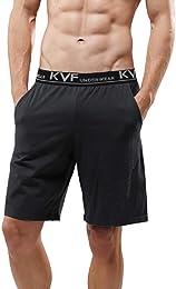 Lot de 2 Shorts de Pyjama pour Hommes, Short de Nu