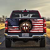 FLAGWIX Truck Decals-Jesus Christian America Truck Tailgate Decal Sticker Wrap THH2603TDfw, 66'x26' Bumper Stickers Graphics for Car Trucks SUV