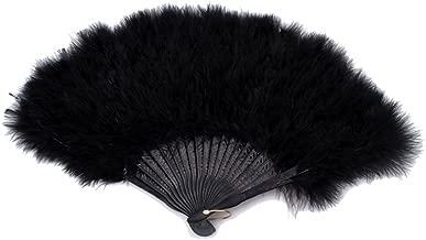 Best burlesque fan feathers Reviews