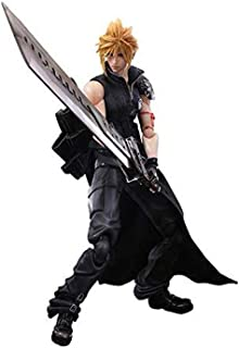 Skwenp Cloud Anime Final Fantasy VII Cloud Strife Action Figure Collection Play Arts Kai Figurine Kids Toy Model Playarts Game Doll Juguetes