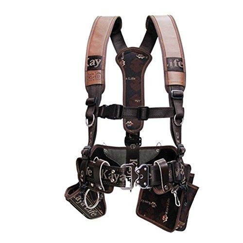 Kaya Life Leather multi tool holders Suspender + a Drill Holster + a Multi Tools Holster + a Wide Width Belt