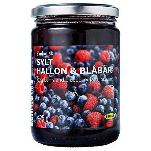 Ikea Sylt Hallon & blåbär–rasp- e marmellata di myrtilles/0,425kg/0,425kg