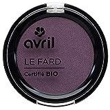 Avril Ombretto certificato bio, colore: prugna opaco, 2,5g
