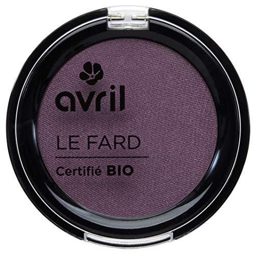 Avril Fard à Paupières Certifié Bio  Prune Irisé 2,5 g