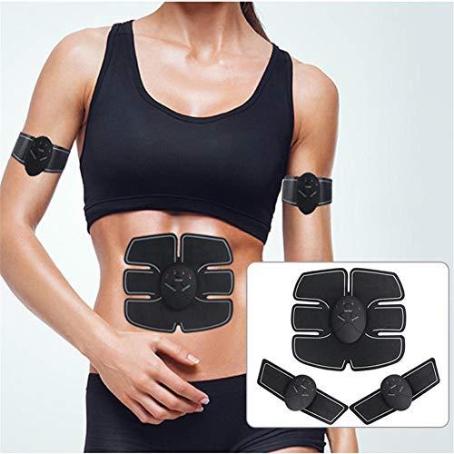 EMS Appareil Electrostimulation pour tous le corps // 4 electrodes Slimming Angel /Écran LCD 6 programmes avec 10 niveaux // Electro-musculation
