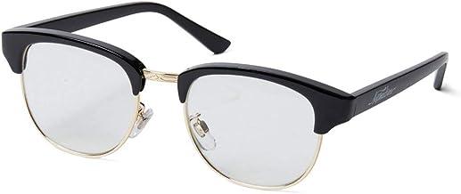 Softmachine ソフトマシーン【MASTER GLASS】 BLACKxCLEAR サングラス 眼鏡 ソフトマシン クリアレンズ