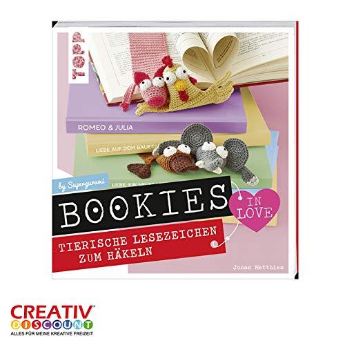 CREATIV DISCOUNT® NEU Buch Bookies in Love Lesezeichen zum Häkeln