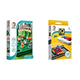 SMART Toys and Games GmbH SG421DE So hüpft der Hase, bunt & Smart Games SG455 IQ-Puzzler PRO,...