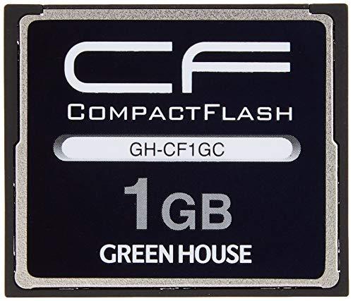 『グリーンハウス 70倍速(10MB/s)スタンダードコンパクトフラッシュ 1GB GH-CF1GC』のトップ画像