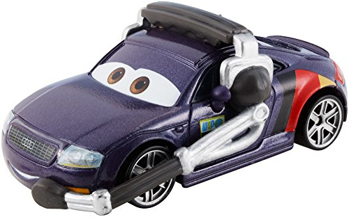 Disney Pixar Cars Diecast Otto Bonn / Max Schell's Crew Chief - véhicule miniature