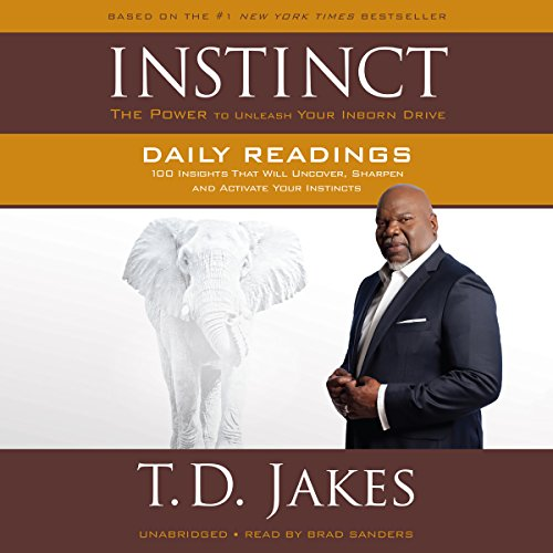 INSTINCT Daily Readings audiobook cover art