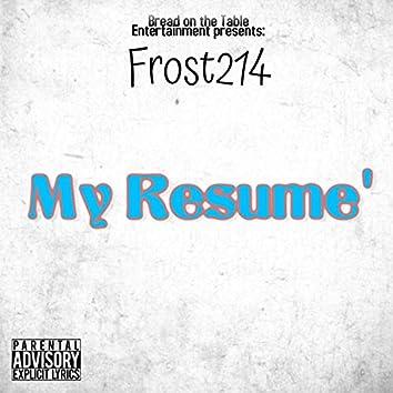 My Resume'
