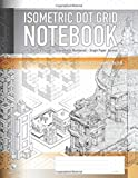 Isometric Dot Grid Notebook - 1/4' Dot Grid Design - Sequentially Numbered - Graph Paper Journal: Architectural & Product Design, 3D Maps and Engineering - ORANGE: Architecture