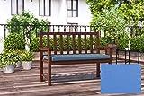 BigPolster Bankauflage Sitzkissen in verschiedenen Größen 2 170 x 40 x 5 Petrol
