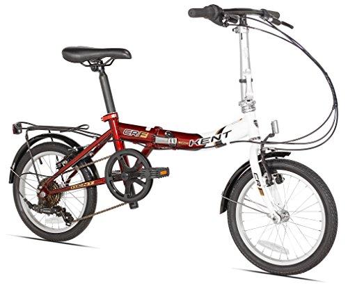 Kent Steel 6 Speed Folding Bike. 16'/One Size