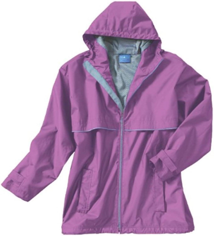 Charles River Apparel Womens New Englander Rain Jacket