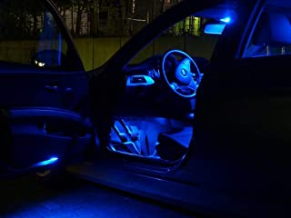 8x LED bulbs interior lights SET automotive courtesy light car lamps WHITE from Pro!Carpentis compatible with C4 and C4 Picasso