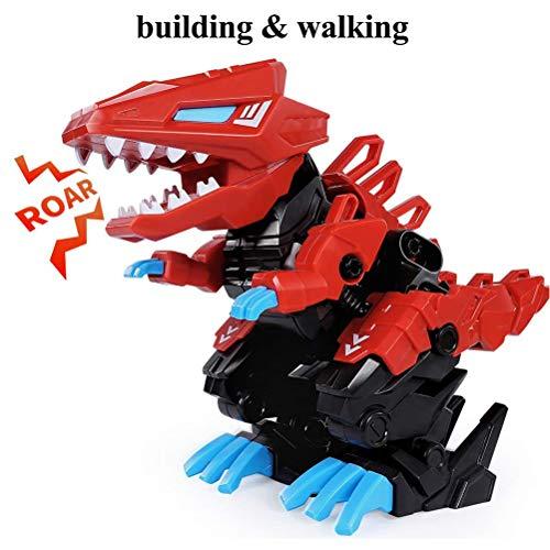 Yissma Dinosaurios, Juguetes de Dinosaurios mueven la Boca y mueven la Cola ensamblan Robots electrónicos