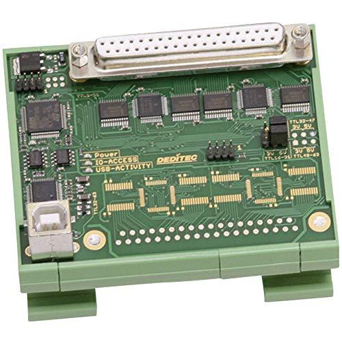 Deditec USB-TTL-32 I/O-Modul USB Anzahl digitale Ausgänge: 32 Anzahl digitale Eingänge: 32