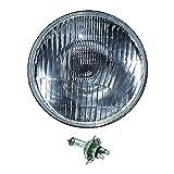 OCTANE LIGHTING 5-3/4' Motorcycle 6V Headlight Headlamp Halogen H4 Light Bulb 6 Volt 35/35W