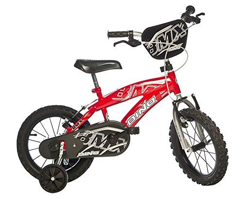 Bici Dino BMX 14'- Bicicletta 4-7 Anni