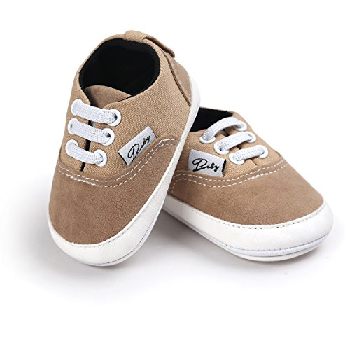 Baby Boys Beige Canvas Shoes