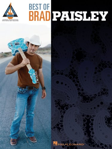 Best of Brad Paisley Songbook (Recorded Versions Guitar) (English Edition)
